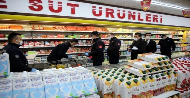 Çankırı'da Marketler Denetimde