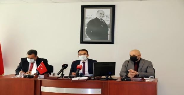 Valimiz Abdullah Ayaz Basın Bilgilendirme Toplantısında Açıklamalarda Bulundu
