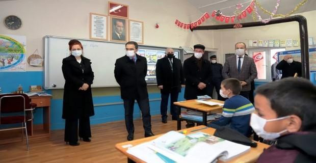 Köy Okullarında Yüz Yüze Eğitim Başladı